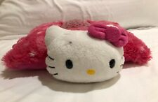 Lovely Pillow Pets Dream Lites Hello Kitty Light Up Pillow Hot Pink Nite Lite