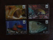 WWF Aitutaki 782-785 fishes 2010 MNH-postfris