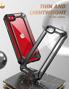 SUPCASE EXO Series For iPhone SE 2nd Gen 2020 / 8 7 Clear Bumper Case Thin Cover