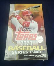 2020 Topps Series 2 Baseball Factory Sealed Hobby Box 1-AUTOS or Relic 1 Silver