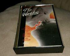 9 1/2 Weeks  Soundtrack cassette DEVO Luba JOHN TAYLOR Dalbello STEWART COPELAND