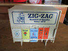 Vintage+ZIG-ZAG++Rolling+Papers+Disp+counter+Display++W%2F+Papers+Some+Rare