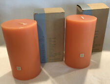 New ListingLot of 2 Partylite 3x5 Pillar Candles - Nib - Pumpkin Apple Cider C35778