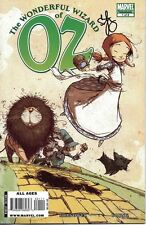 signed THE WONERFUL WIZARD of OZ #1 1st print SKOTTIE YOUNG MARVEL COMIC dorothy