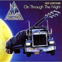 DEF LEPPARD - ON THROUGH THE NIGHT  CD 11 TRACKS CLASSIC ROCK / HEAVY METAL NEU
