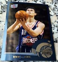 YAO MING 2003 Topps CHROME #1 Draft Pick CHINESE SP Rookie Card RC Rockets HOF $
