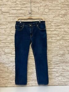 LEVI's 511  Herren-Jeans in Blue   Schmales Bein   W 38  L 32