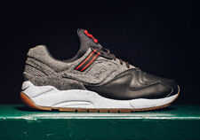 Saucony Grid 9000 Letterman Mens Sz 7.5 Black Gum Wool  S70259-1 Shadow Original