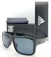 NEW ADIDAS Matic Sunglasses a426/00 6050 00/00 Black Shiny Polarized Grey 59mm