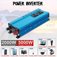 Convertisseur pur sinus 12V 230V2000W 5000W Onduleur dc to ac Transformateur Z