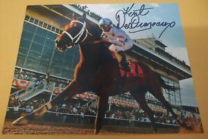 KENT DESORMEAUX BIG BROWN 2008 KENTUCKY DERBY SIGNED 8x10 HORSE RACING PHOTO