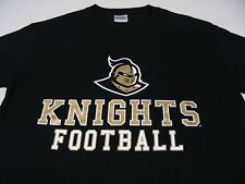 UCF KNIGHTS - NCAA/FBS/AAC - BLACK - LARGE SIZE T SHIRT!