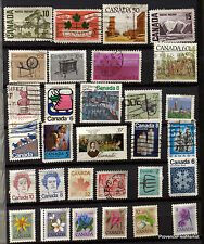 CANADA  LOT DE  TIMBRES OBLITERES NON TRIES VOIR PHOTO  82M18