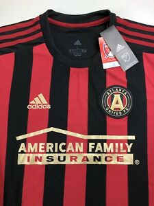 Adidas Official MLS Atlanta United FC Soccer Jersey Size Large
