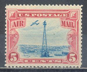 US Stamp (L1613) Scott# C11, Mint NH OG, Nice Air Mail