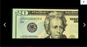 A NEW PCGS 64 THREE DIGIT SERIAL NUMBER 979 Fort Worth 2009 $20 FR.2096-D