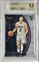 2017-18 PANINI SELECT CONCOURSE LONZO BALL ROOKIE CARD RC #28 BGS 9.5 Gem Mint🔥