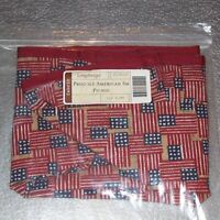 Longaberger Proudly American Old Glory SMALL PICNIC / CAKE Basket Liner ~ New!