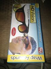 NEW HD Vision Sunglasses Wrap Around 100% UV Protection - As Seen On TV