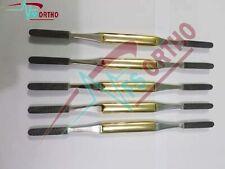 Fomon Bone File Nasal Rasp Tc Ent Set Of 5 Size Surgical Instruments
