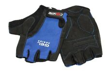 Coyote Urban Gel Cycling Gloves Mitts Fingerless Half Finger Padded Comfort Blue