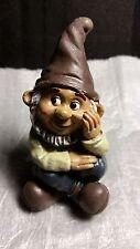 Miniature Dollhouse Fairy Garden Gnome Sitting