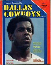 1977 Dave Campbells Dallas Cowboys Season Outlook Magazine Tony Dorsett
