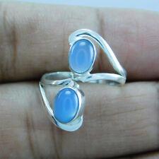 925 Sterling Silver Chalcedony Designer Adjustable Toe Ring Sz-6 btr-226