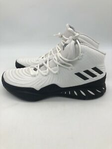 USED Sz 11.5 Mens Adidas Crazy Explosive High Shoes CQ1522