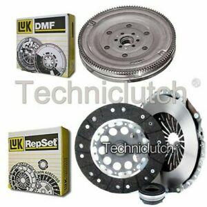 LUK 3 PART CLUTCH KIT AND LUK DMF FOR AUDI A6 SALOON 1.9 TDI