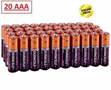 (20 Pack) Duracell AAA 1.5v CopperTop Alkaline Batteries (Exp 2026)