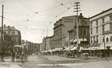 Portsmouth NH Congress Street 1910 photo CHOICES 5x7 or request 8x10 or 8x12 or
