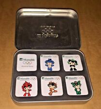 MANULIFE OLYMPIC 2008 MAGNETS IN TIN - ASIAN GAMES