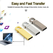 32GB Metal USB 2.0 Flash Drive Pendrive Memory Stick Pen Drive 1MB U Disk LOT