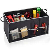 Honey-Can-Do Soft Storage Chest Black/Grey Folding Trunk Organizer