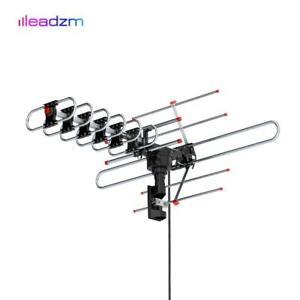 980Mile HDTV Outdoor Amplified Digital TV Antenna 1080P 4K HD UHF VHF 360 Rotor