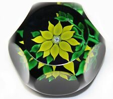 1970 ST. LOUIS CLEMATIS PAPERWEIGHT  EXCELLENT!