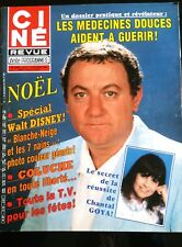 Ciné Télé 22/12/1983; Coluche en toute liberté.../ Chantal Goya/ Walt Disney