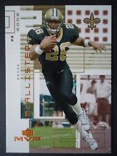 NFL 149 Deuce McAllister New Orleans Saints upper Deck Mvp 2002