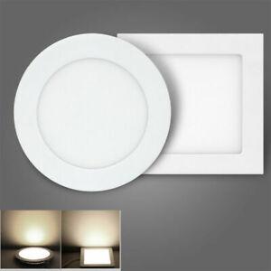 TOP LED Panel Leuchte Dimmbar Deckenlampe Einbau Unterputz Lampe Ultraslim NB