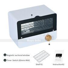 8L UV Sterilizer Double Layer Ozone Disinfection Cabinet Spa Salon Equipment