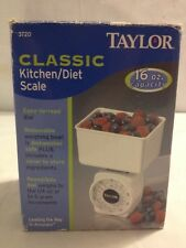 Taylor Classic Kitchen/Diet Scale 16 oz Capacity (A2)