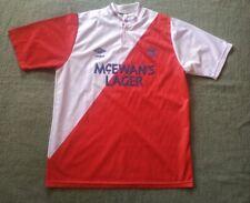 FC RANGERS GLASGOW 1987/1988 AWAY FOOTBALL SHIRT UMBRO 38-40 SIZE M