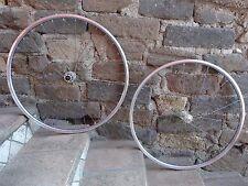 NOS FIR  Piuma wheelset very rare,spokes titanium colored,Campagnolo 9/10/11 sp.