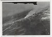 Flug über russisches Land. Orig-Pressephoto von 1941
