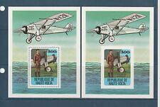 Haute Volta  bloc  aviation  Lindbergh1978  num: BF 10  D et ND  **