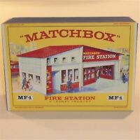 Matchbox Lesney Accessory MF-1 Fire Station  empty box reproduction