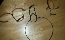 Johnny West Marx custom made horse one beaded bridles two halters  USA MADE