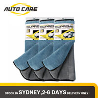 Autocare 3pcs Microfibre Kitchen Drying Towel Car Detailing Clean Cloth 800GSM