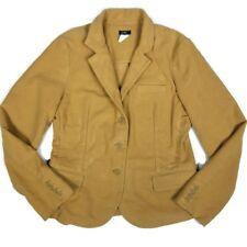 J. Crew Womens Velveteen Blazer Size Large Tan Long Sleeve Style 78810